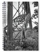 Steel Wonder 2 Bw Spiral Notebook