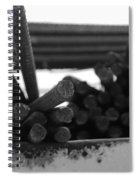 Steele Rods Spiral Notebook