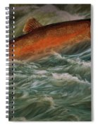 Steelhead Trout Fish No.143 Spiral Notebook
