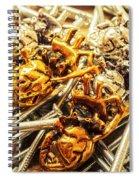 Steeling Hearts Spiral Notebook