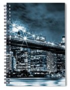 Steely Skyline Spiral Notebook
