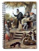 Steen: Quack, 17th Century Spiral Notebook