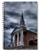 Steeple In The Sky Spiral Notebook