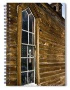 Steeple Window Wall Spiral Notebook