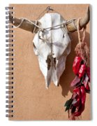 Steer Skull In Santa Fe Spiral Notebook