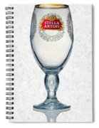 Stella Artois Chalice Painting Collectable Spiral Notebook