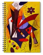 Step Lively Now Spiral Notebook