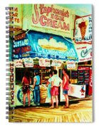 Stephanies Icecream Stand Spiral Notebook