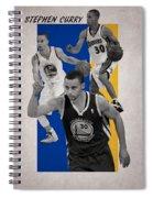 Stephen Curry Golden State Warriors Spiral Notebook