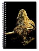 Steppe Bison Spiral Notebook