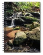 Stepping Cascade - Leura, Blue Mountains, Australia. Spiral Notebook