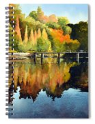 Stepping Stones Bolton Abbey Spiral Notebook