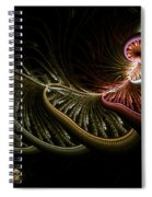 Stepping Through Time Spiral Notebook