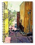 Steps At 187 Street Spiral Notebook