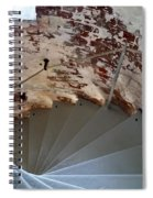 Steps From The Wall Spiral Notebook