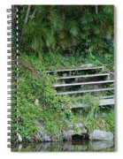 Steps In The Grass Spiral Notebook