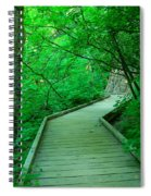 Steps Into Paradise Spiral Notebook
