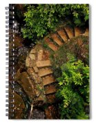 Steps Leading Up The Stairway To Heaven Spiral Notebook