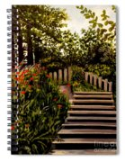 Steps Of Monte Rio Spiral Notebook