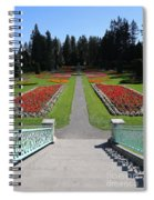 Steps To Duncan Garden Spiral Notebook