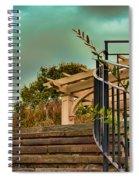 Steps To Jupiter Spiral Notebook