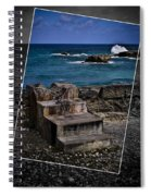 Steps To The Ocean2 Spiral Notebook