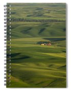 Steptoe Butte 5 Spiral Notebook