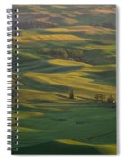 Steptoe Butte 9 Spiral Notebook