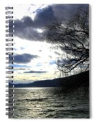 Sterling Silver Sunset Spiral Notebook