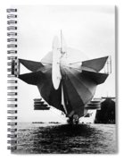 Stern Of Zeppelin Airship - 1908 Spiral Notebook