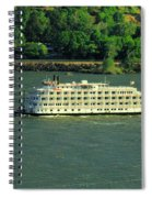 Stern Wheeler On The Columbia River  Spiral Notebook