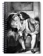 Sterne: Tristram Shandy Spiral Notebook