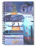 Steve Mcqueen Le Mans Porsche 917 01 Spiral Notebook