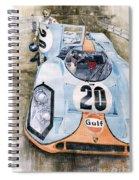 Steve Mcqueens Porsche 917k Le Mans Spiral Notebook