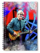 Steve Miller Spiral Notebook