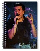 Steve Perry-95-0026 Spiral Notebook