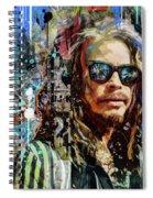 Steven Tyler Tribute Spiral Notebook