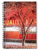 Steves Market Snowstorm Salem Ma Spiral Notebook