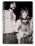 Stevie Nicks And Lindsey Buckingham Spiral Notebook