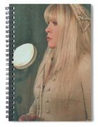 Stevie Nicks In Profile Spiral Notebook