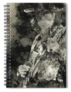 Stevie Ray Vaughan - 15 Spiral Notebook