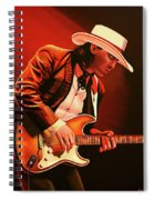Stevie Ray Vaughan Painting Spiral Notebook