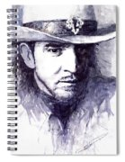 Stevie Ray Vaughan Spiral Notebook
