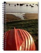 Stewart Island Half Moon Bay New Zealand Spiral Notebook