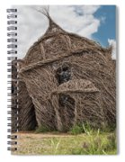 Lean On Me - Stick House Series #3 Spiral Notebook