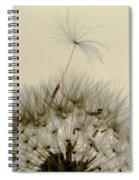 Sticking Out Spiral Notebook