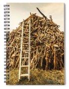 Sticks And Ladders Spiral Notebook