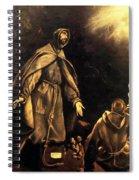 Stigmatisation Of St Francis Spiral Notebook