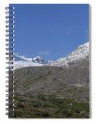 Stikine Mountains 2 Spiral Notebook