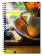 Still Life By Window Spiral Notebook